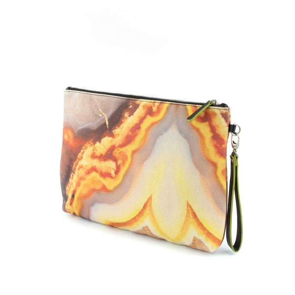 Orange sling bag by GLUSH