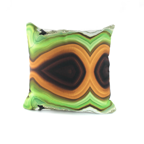 Green agate stone pattern PILLOW COVER - GLUSH/ - 1