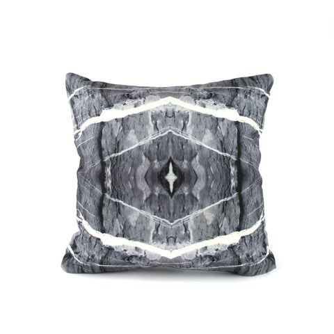 HARD RAYS GREY PILLOW COVER - GLUSH/ - 1