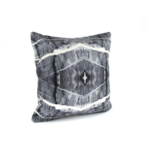 HARD RAYS GREY Pillow Case + Throw Blanket Set - GLUSH/ - 3