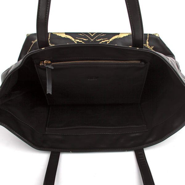 HARD RAYS BLACK GOLD WEEKEND TOTE - GLUSH/ - 3