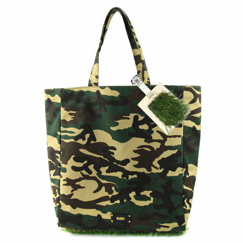 Camouflage GRASSY Tote and GRASSY Luggage Tag combo - GLUSH/ - 1