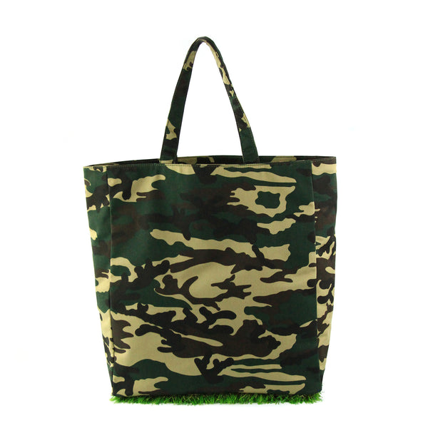 [ LIMITED EDITION ] Camo Grassy Tote - GLUSH/ - 4