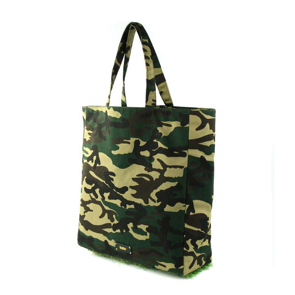 [ LIMITED EDITION ] Camo Grassy Tote - GLUSH/ - 3