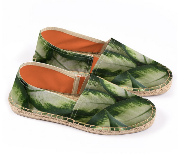 Green Leaves Espadrilles - GLUSH/ - 1