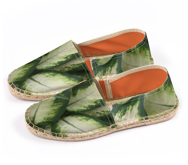 Green Leaves Espadrilles - GLUSH/ - 2