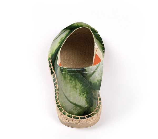 Green Leaves Espadrilles - GLUSH/ - 3