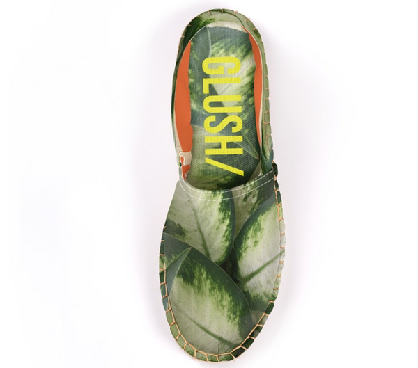Green Leaves Espadrilles - GLUSH/ - 4