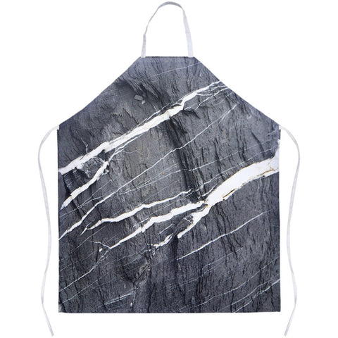 Hard Rays Grey Marble Apron - GLUSH/