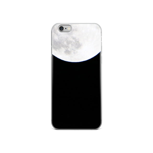Black and White Super Moon iPhone 6 Case - GLUSH/ - 3