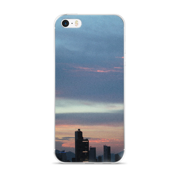 Blue HK Skyline iPhone 5/5s/Se, 6/6s, 6/6s Plus Case - GLUSH/ - 1