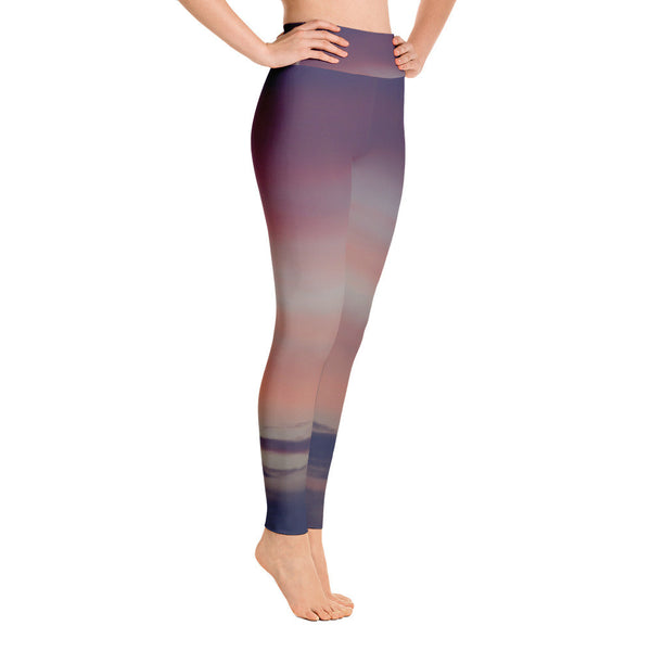 Purple Sky Yoga Leggings