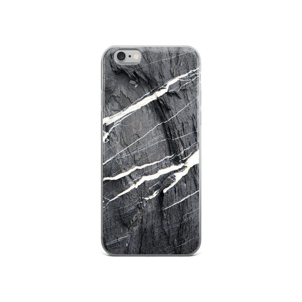 Hard Rays Grey Marble iPhone 5/5s/Se, 6/6s, 6/6s Plus Case - GLUSH/ - 3