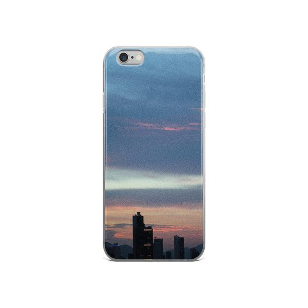 Blue HK Skyline iPhone 5/5s/Se, 6/6s, 6/6s Plus Case - GLUSH/ - 3
