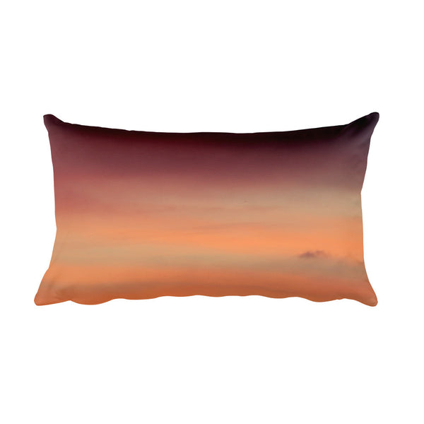 Orange Sky Rectangular Pillow case - GLUSH/ - 1