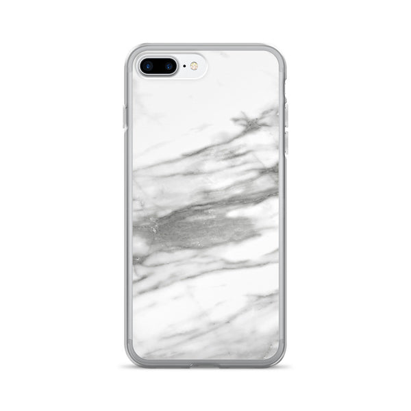 White Marble iPhone 7+ Case - GLUSH/ - 2