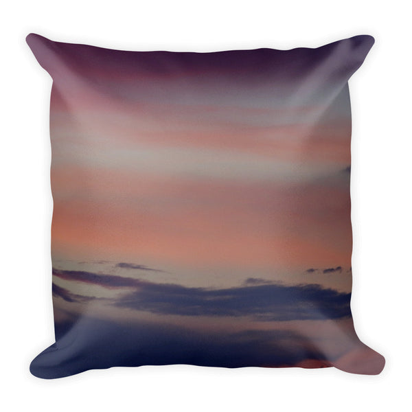 Purple Sky Square Pillow for your home - GLUSH/ - 2