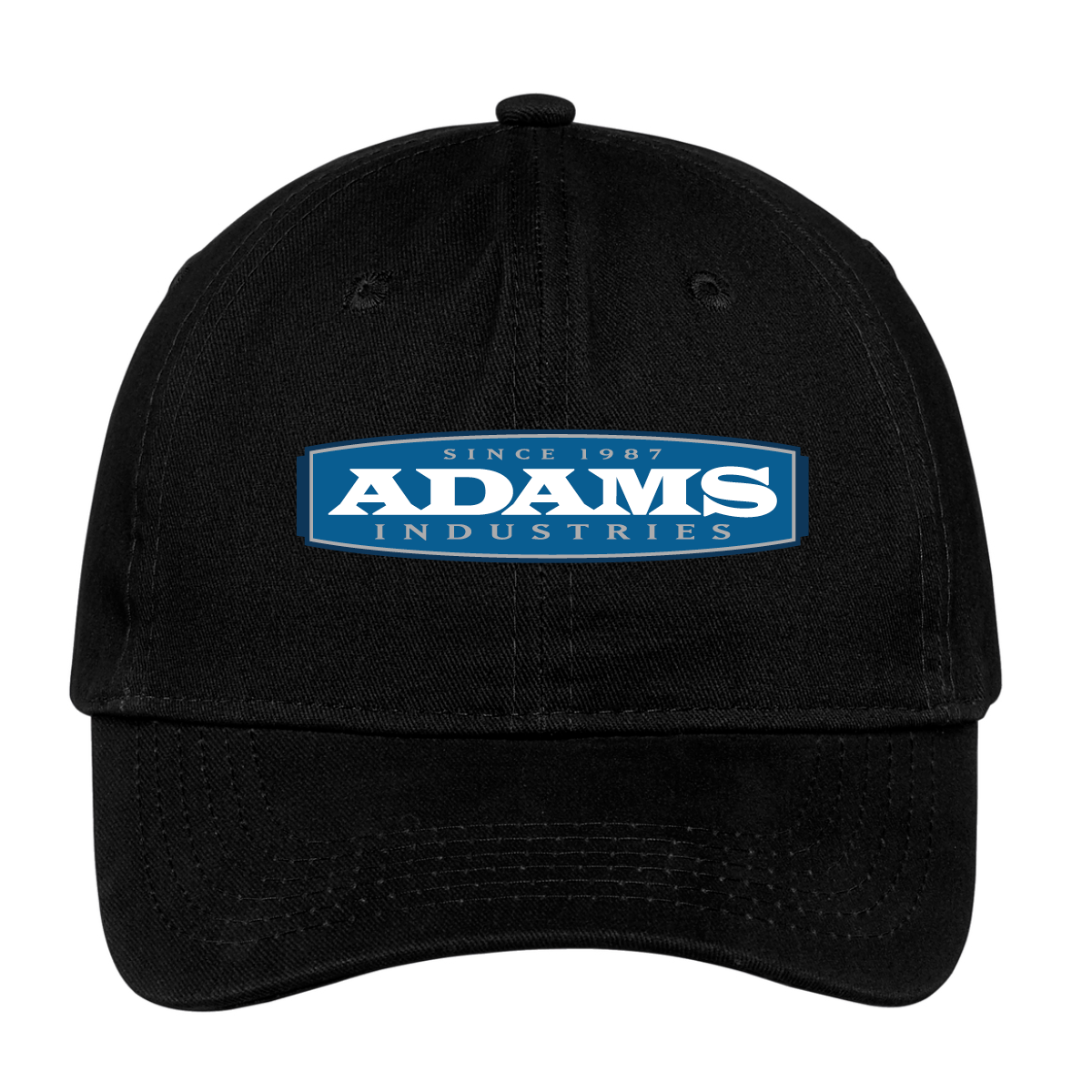 Adams Brushed Twill Low Profile Cap
