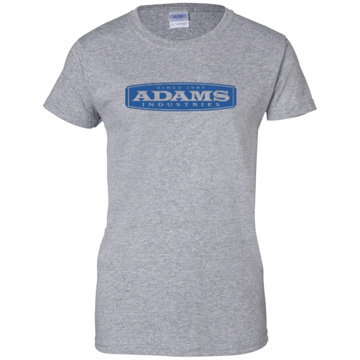 Adams Ladies' 100% Cotton T-Shirt