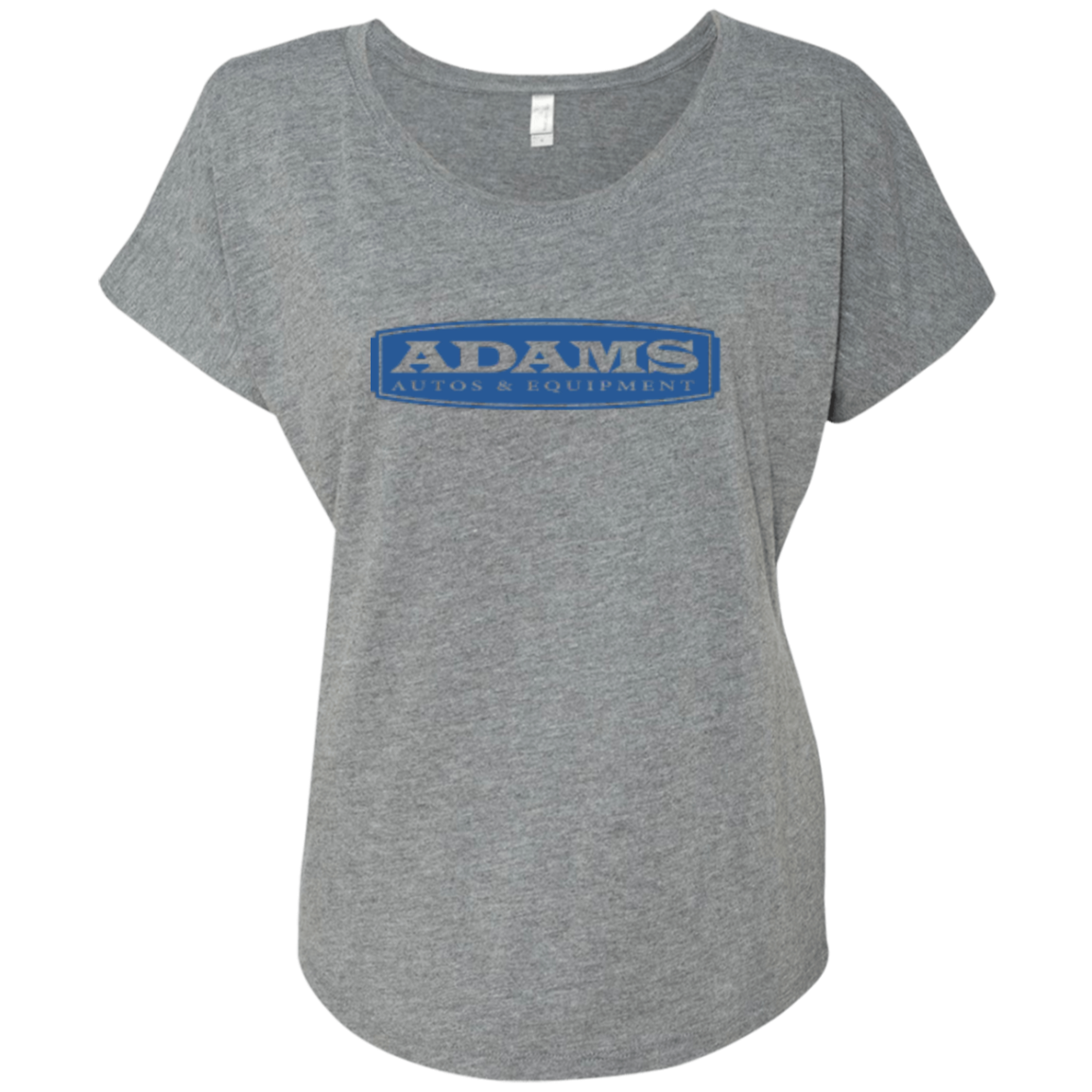 Adams Autos Ladies' Triblend Dolman Sleeve
