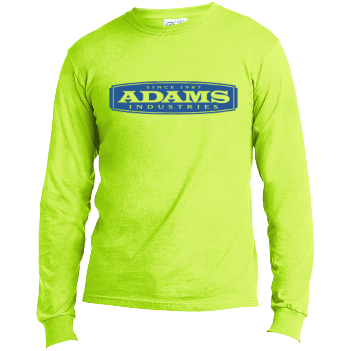 Adams Men's Long Sleeve Cotton T-Shirt