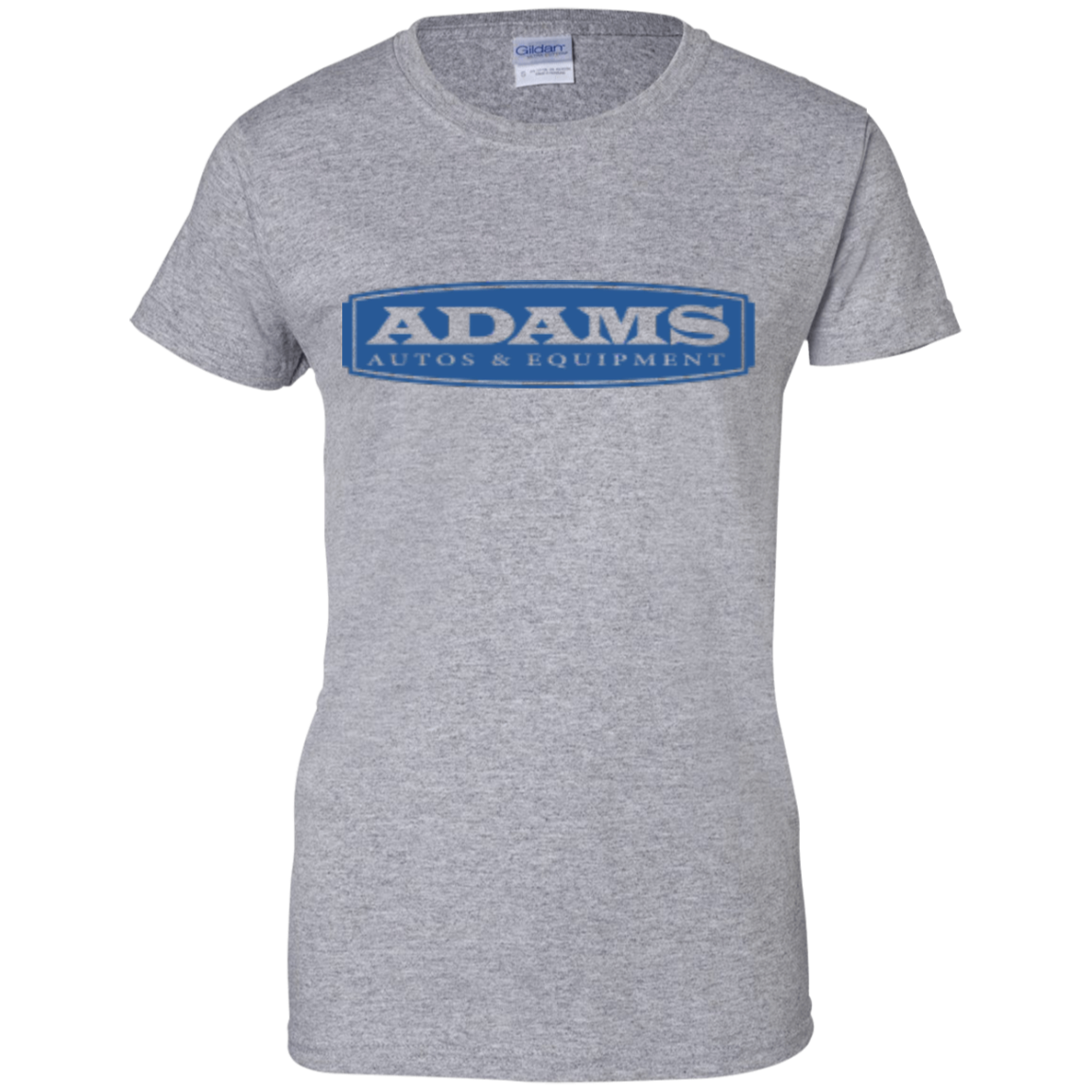 Adams Autos Ladies' Cotton T-Shirt