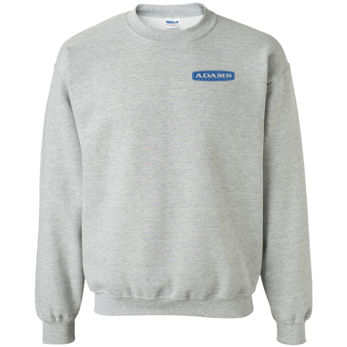 Adams Crewneck Pullover Sweatshirt  8 oz.