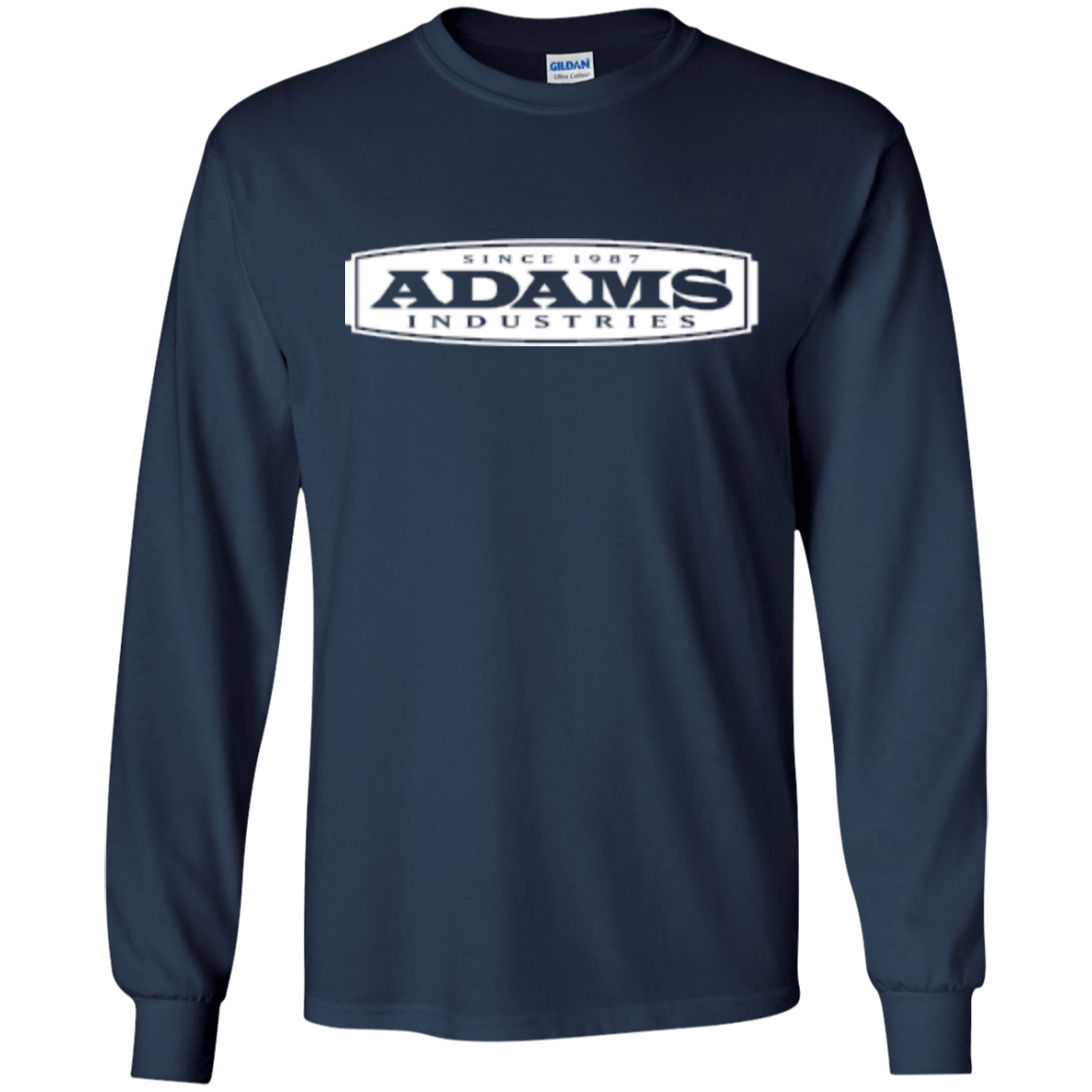 Adams Long Sleeve Ultra Cotton T-Shirt