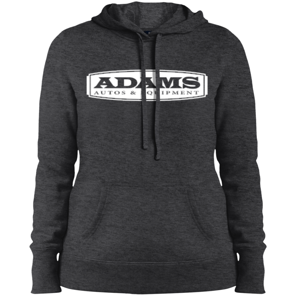 Adams Autos Ladies' Pullover Hooded Sweatshirt