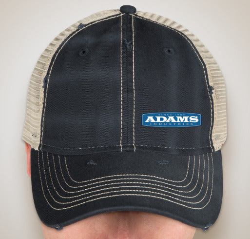Adams Sportsman Dirty‑Washed Trucker Hat
