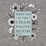 champagne room fitted tee