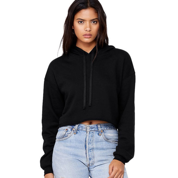 intersectional future cropped hoodie