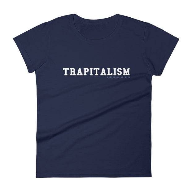 trapitalism fitted tee