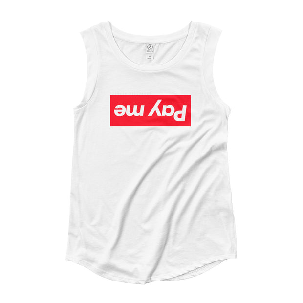 inversion sleeveless tee
