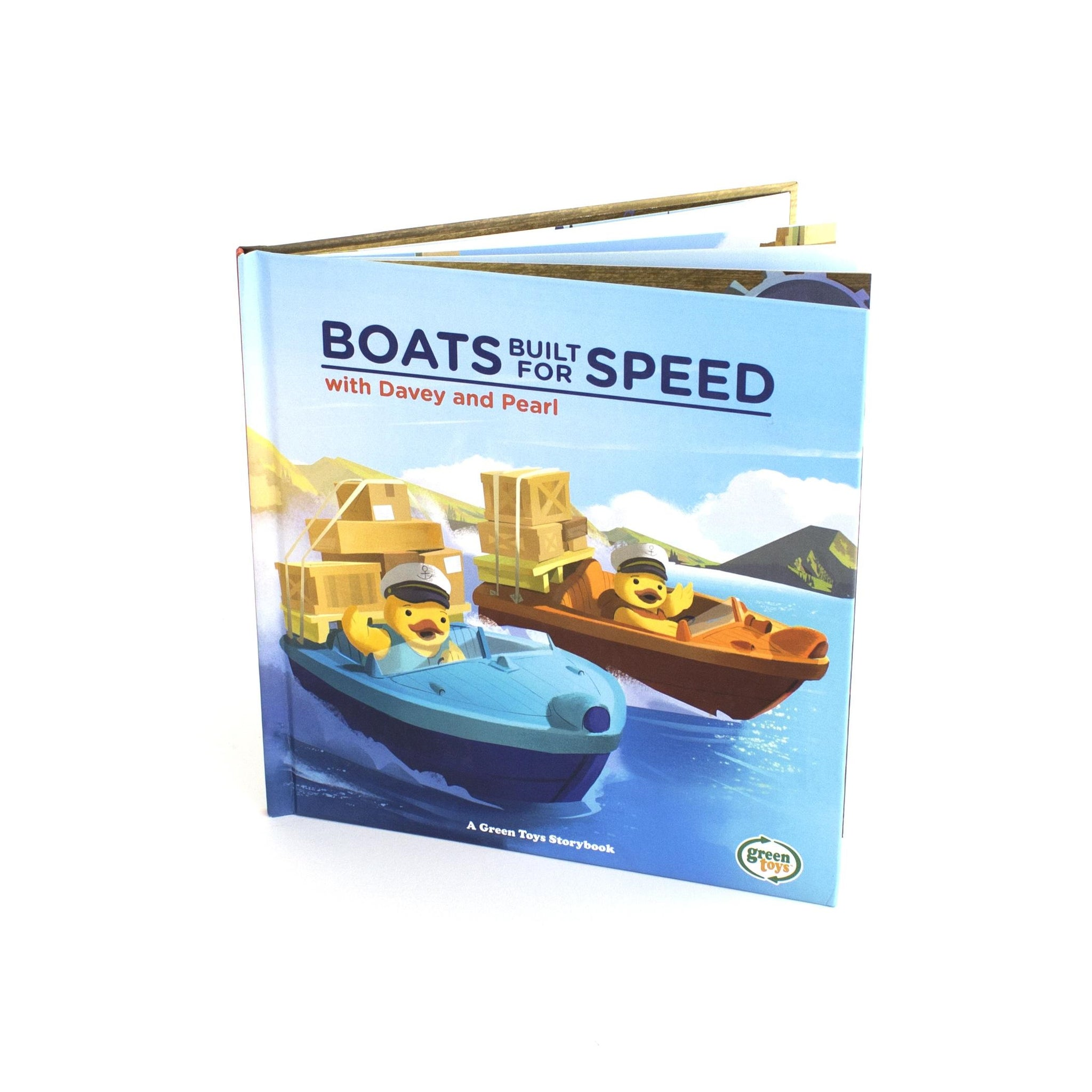Green Toys Speed Boat Vehicle Green
