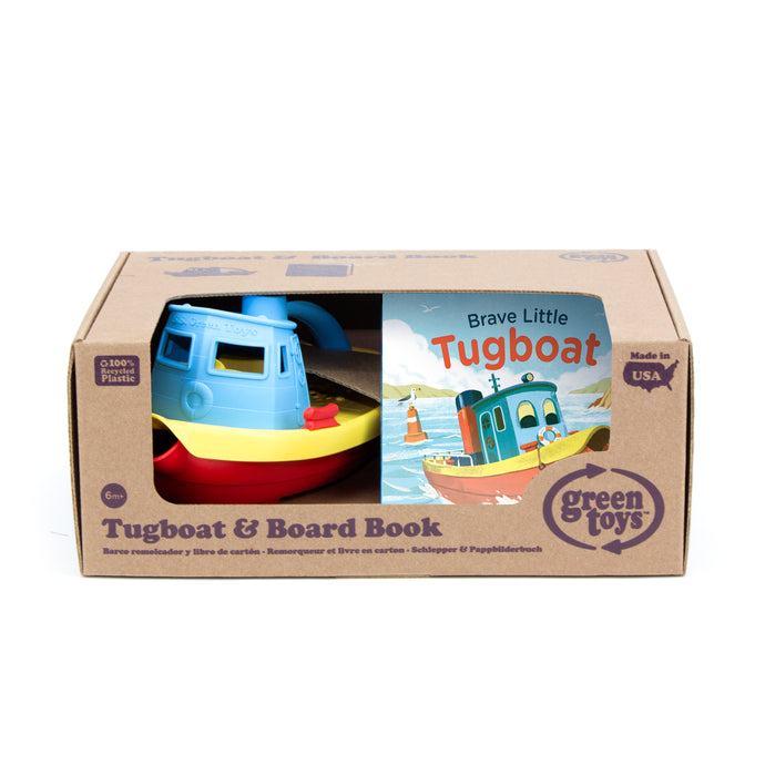 Tugboat & Board Book Set