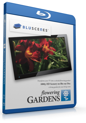 BluScenes Flowering Gardens Blu-ray with Digital Copy Download