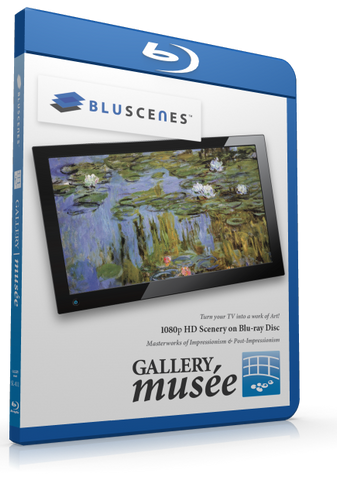 BluScenes Gallery Musée: Impressionism & Post Impressionism with Digital Copy Download