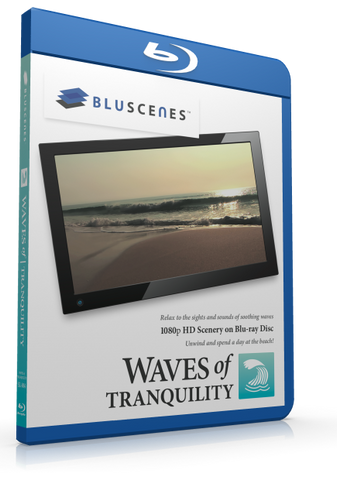 BluScenes: Waves of Tranquility with Digital Copy Download