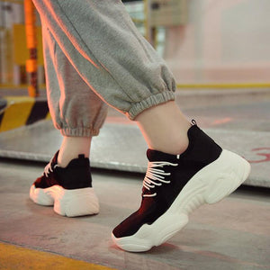 Ulzzang Dad Shoes High Top Sneakers