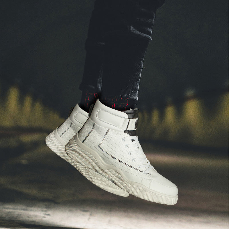 2019 New Arrival Breathable High Top Skateboarding Shoes