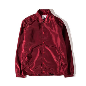 Solid Color Windbreaker