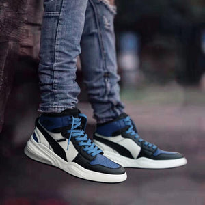 Retro High-top Breathable Men's Basketball Shoes