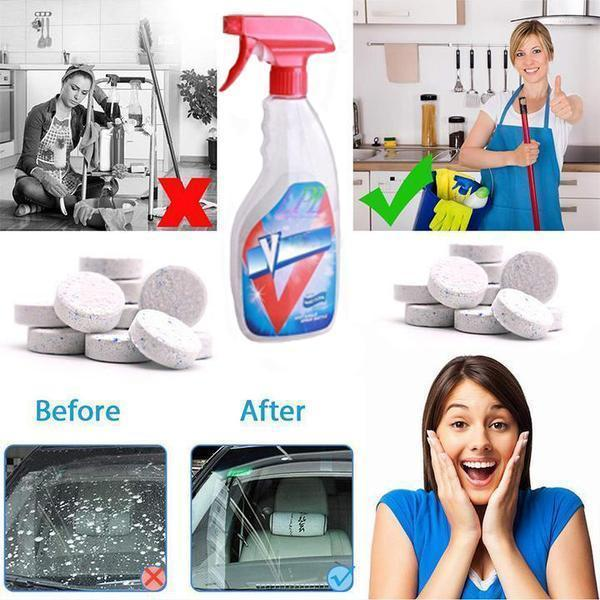 【Clean New Revolution】 Multifunctional Effervescent Spray Cleaner