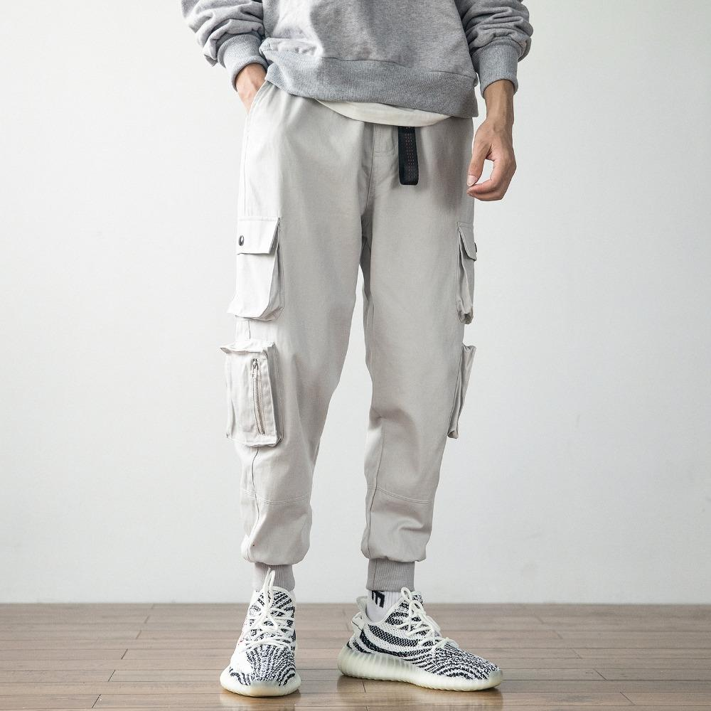 Multi-pocket Cargo Casual Pants