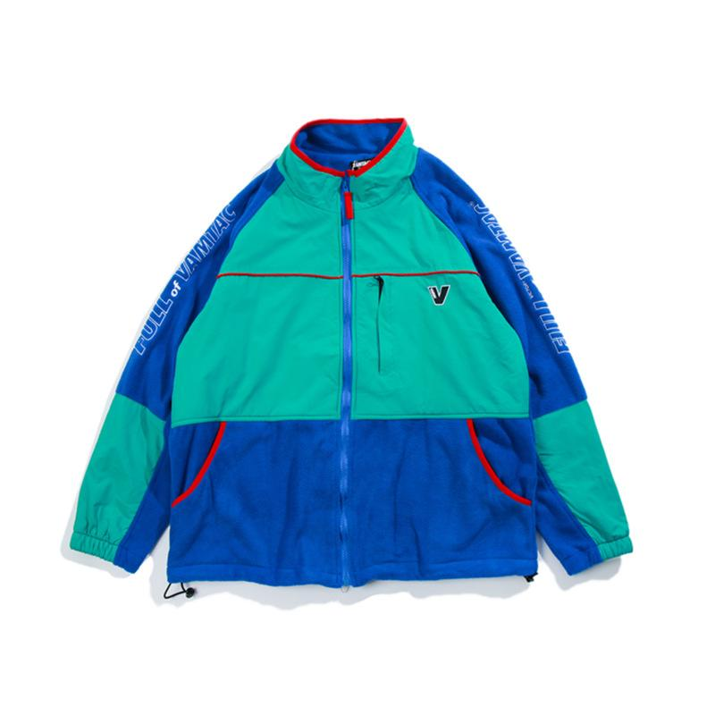 Vintage Color Block Parkas