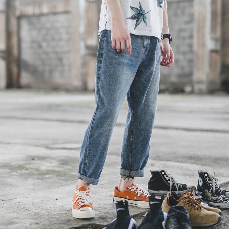 Heavy Craft Loose Washed Denim Jeans