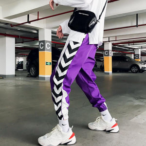 Arrow Purple/Black Sweatpants