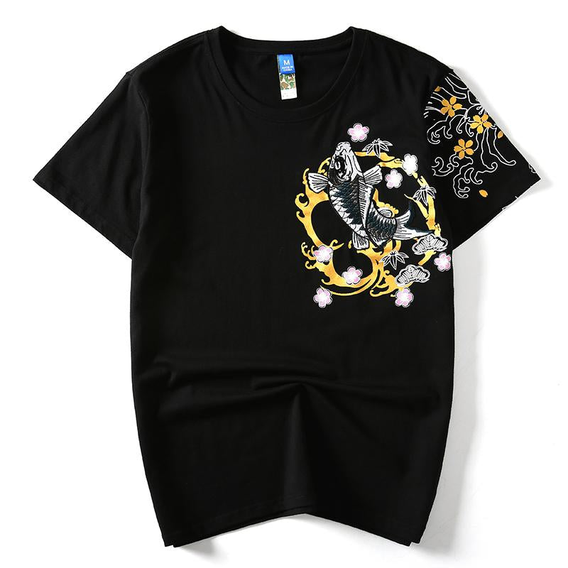 Chinese Style Embroidery T-shirts