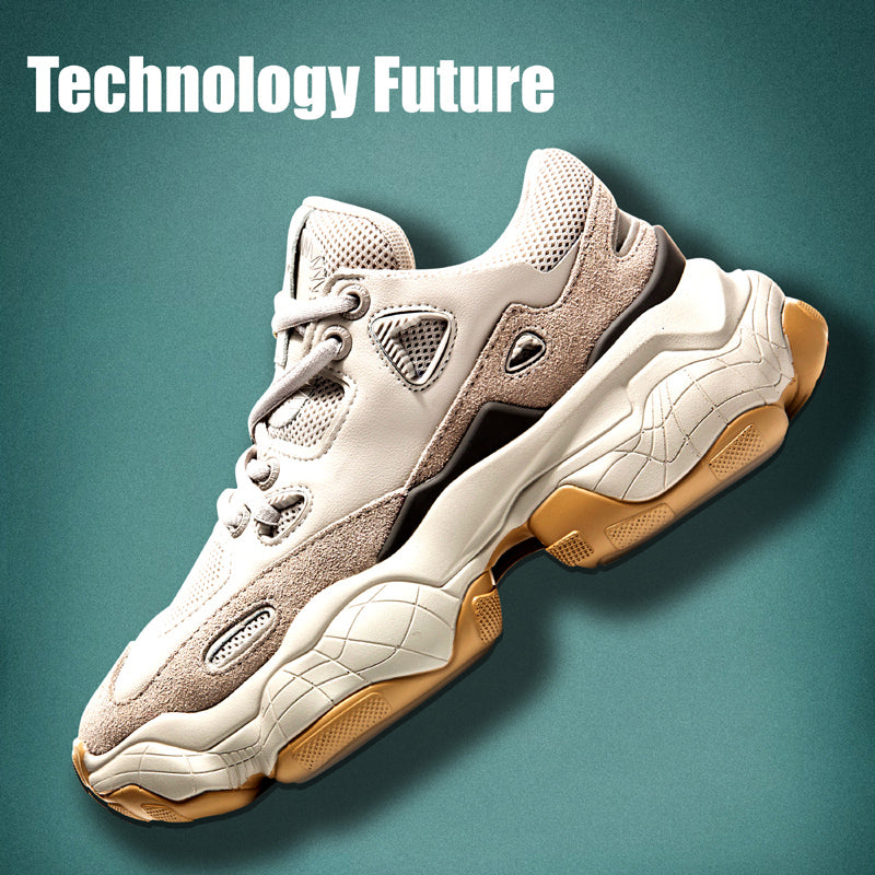 Fashion Breathable Casual Platform Shoes(Men)